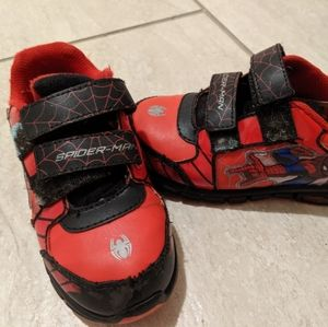 Spiderman Light Up sneakers